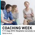 Coaching Week 2018 - warsztaty, coach, bezpłatne, CDV