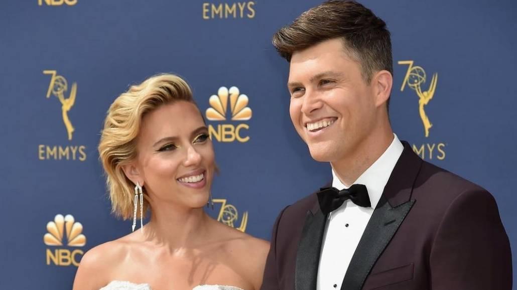 Scarlett Johansson i jej partner