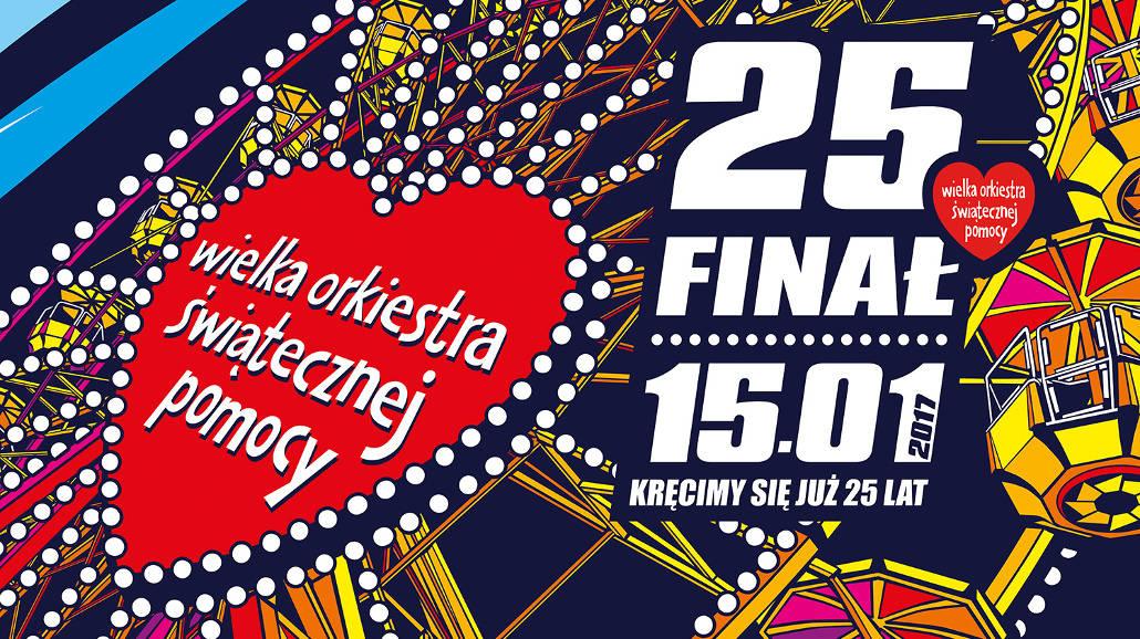 25. Finał WOŚP w Łodzi z Wielką Szarżą i koncertami