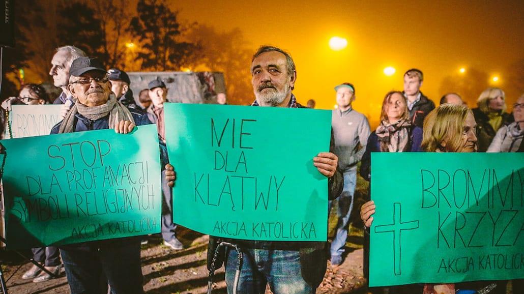 KlÄ…twa - protest