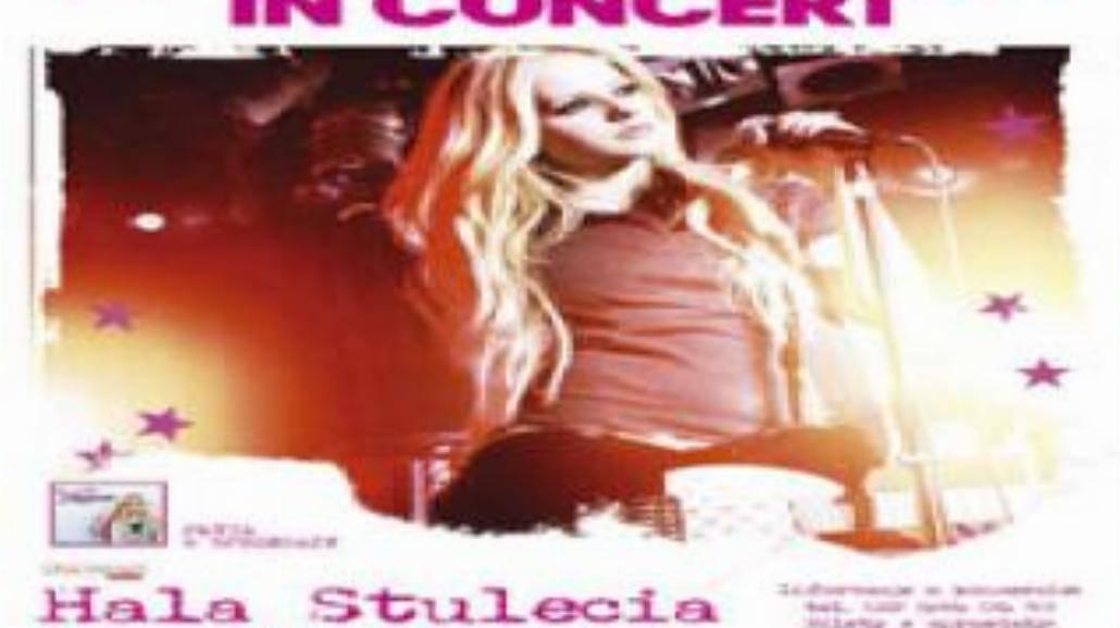 Avril Lavigne i Nefer w Hali Stulecia