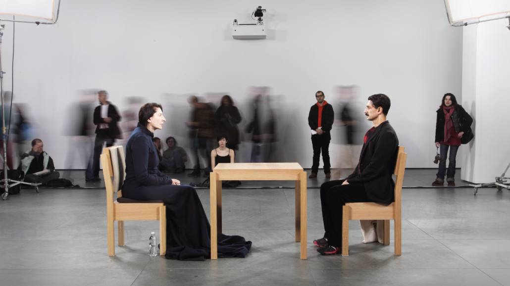 "Marina Abramović - ""The Artist is Present"""