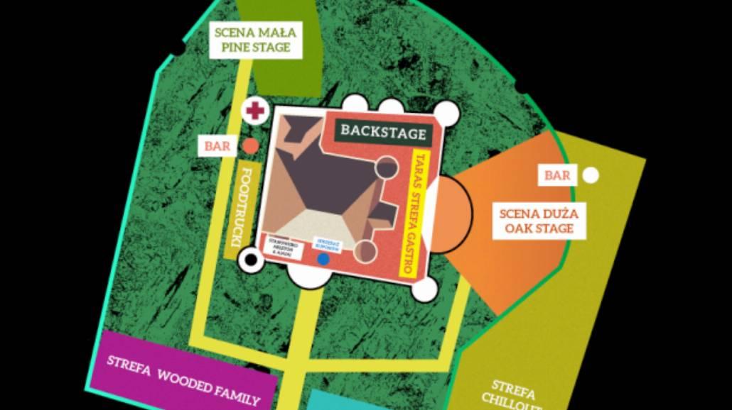 Wybierasz się na Wooded Festival 2015? Sprawdź mapkę i rozpiskę godzinową!