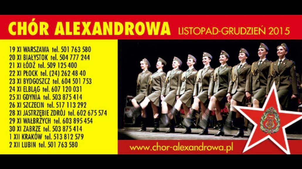 Chór Aleksandrowa z kolejną trasą w Polsce