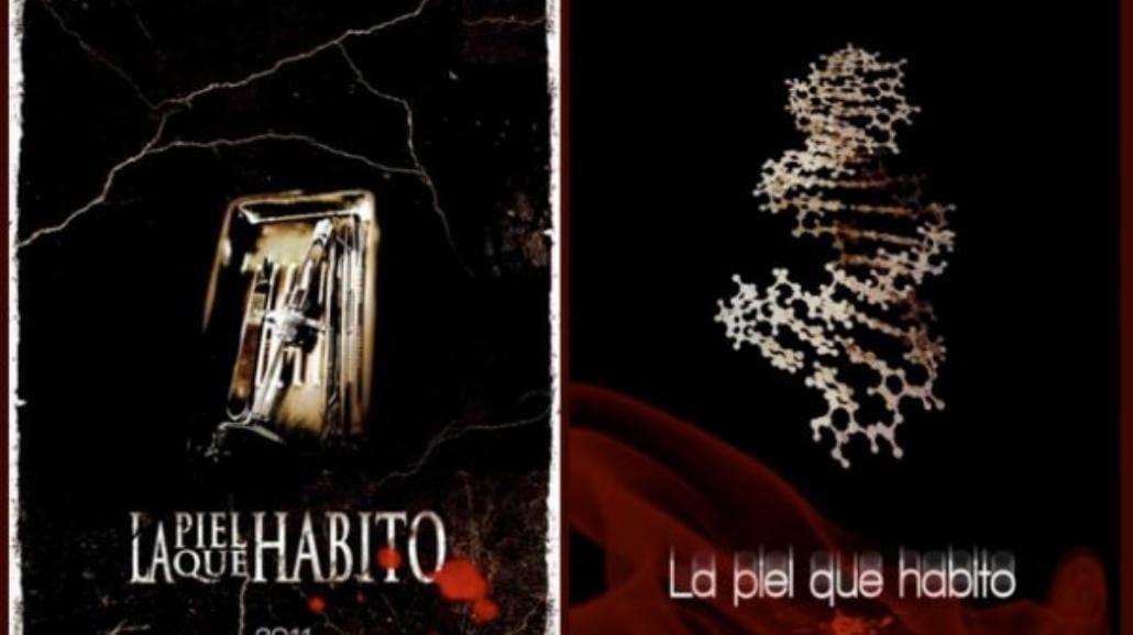 """""""Skóra, w której żyję""""  Almodóvara - zobacz plakat"""