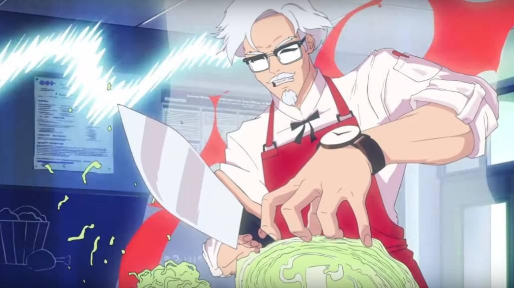 Zobacz zwiastun nowej gry, w ktÃłrej będzie moÅźna pÃłjść na randkę z załoÅźycielem KFC!