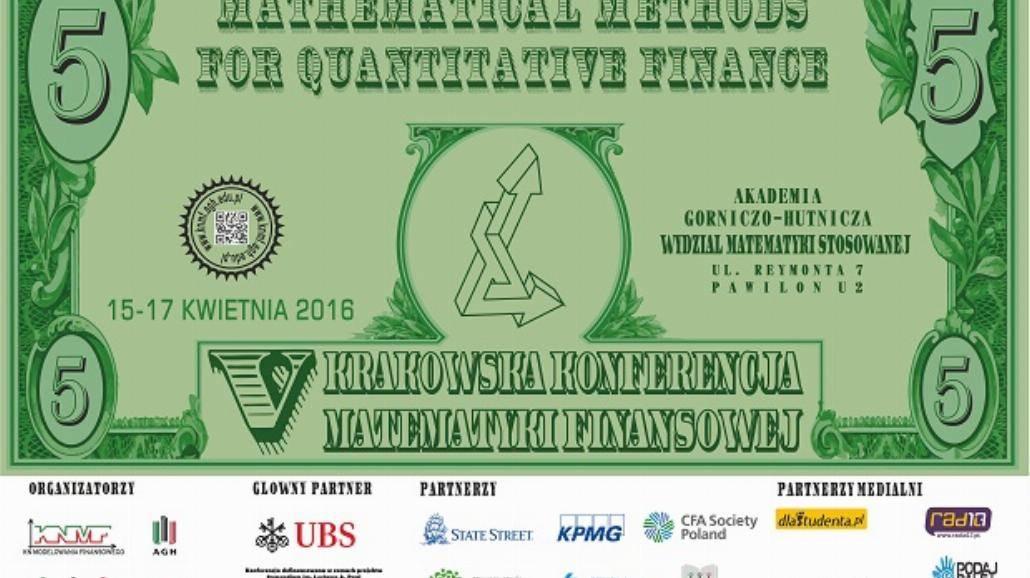 V Krakowska Konferencja Matematyki Finansowej