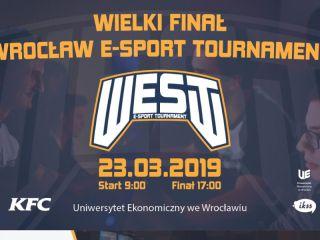 Wrocław E-Sport Tournament - nadchodzi Wielki Finał rozgrywek! - projekt, drużyny, turniej, gry, esport