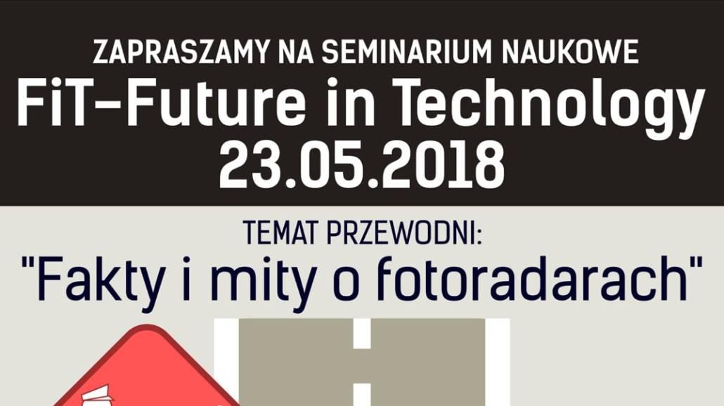 Seminarium odbędzie się 23 maja.
