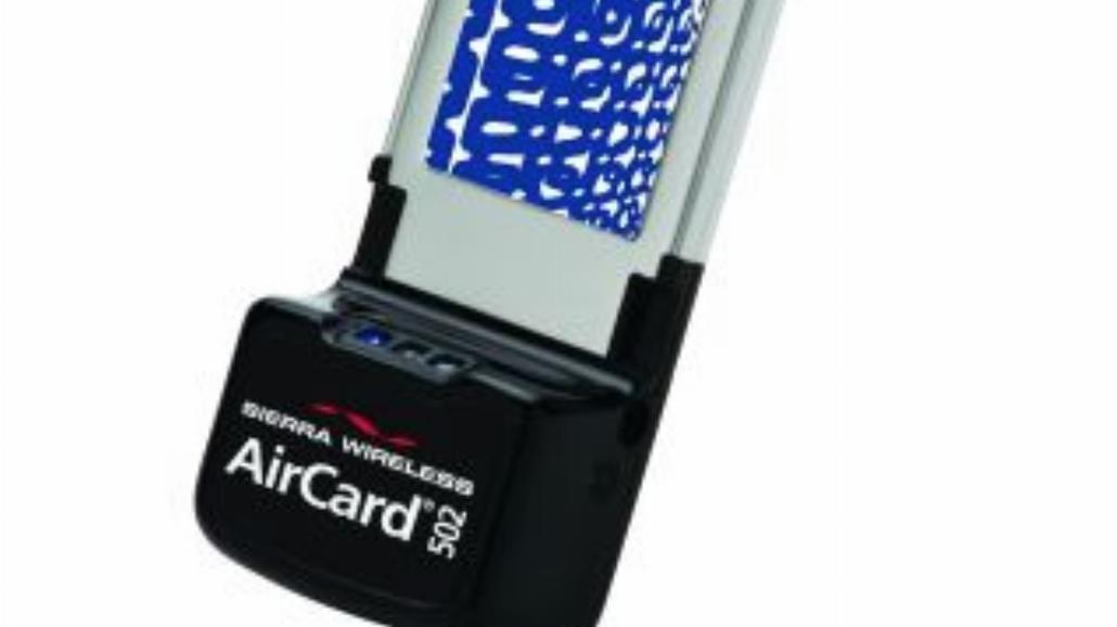 Modem AirCard 502 dla podróżujących