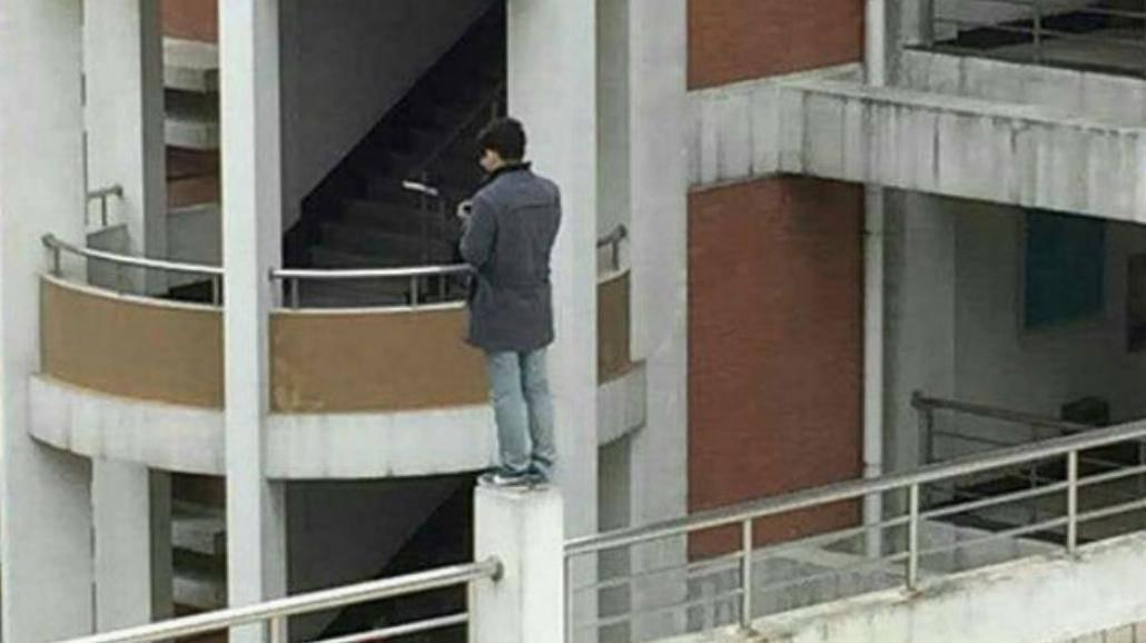 Student chciał popełnić samobójstwo na swojej uczelni