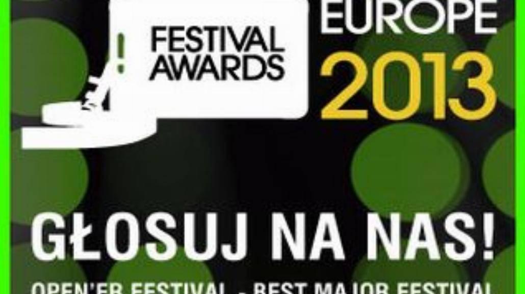 Open'er z nominacją do European Festival Awards