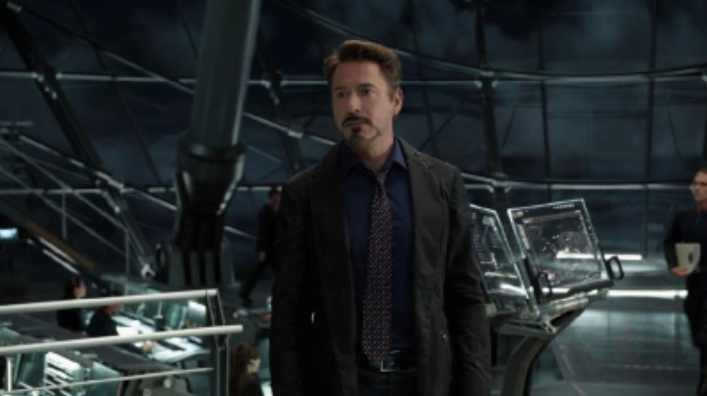 Robert Downey Jr. wśród i o superbohaterach