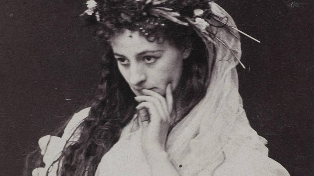 Helena Modrzejewska jako Ofelia