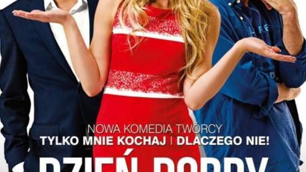"""Seksowna Basia Kurdej - Szatan na plakacie """"Dzień dobry, kocham cię"""""""