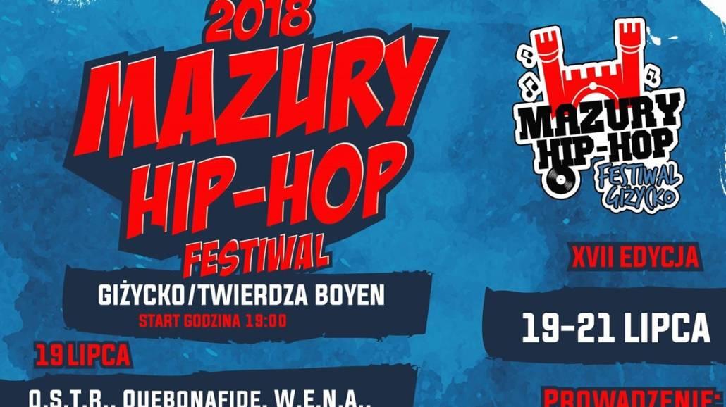 Rozpiska godzinowa na tydzień przed XVII-tą edycją Mazury Hip-Hop Festiwalu !
