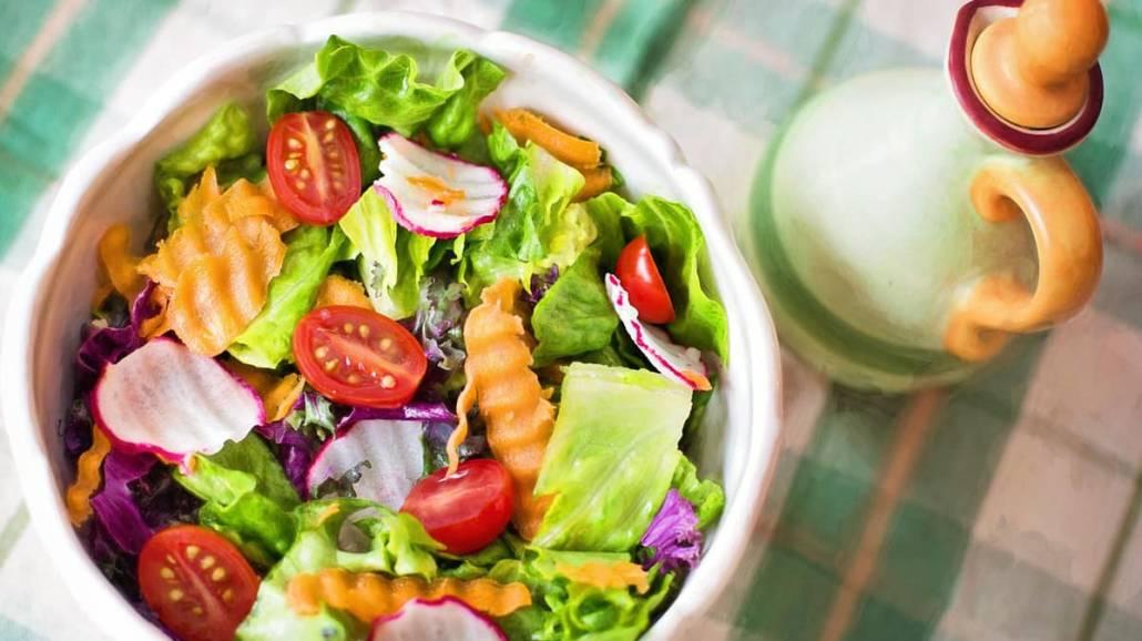 salatka, zdrowe jedzenie