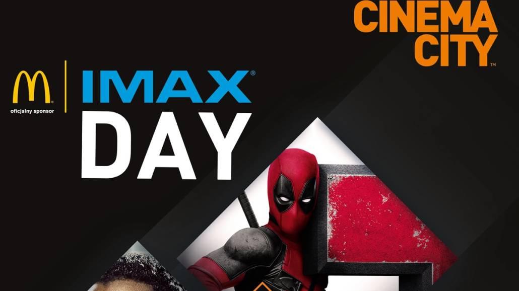 IMAX® Day - Największe HITY IMAX® 2018 roku tylko za 18zł!