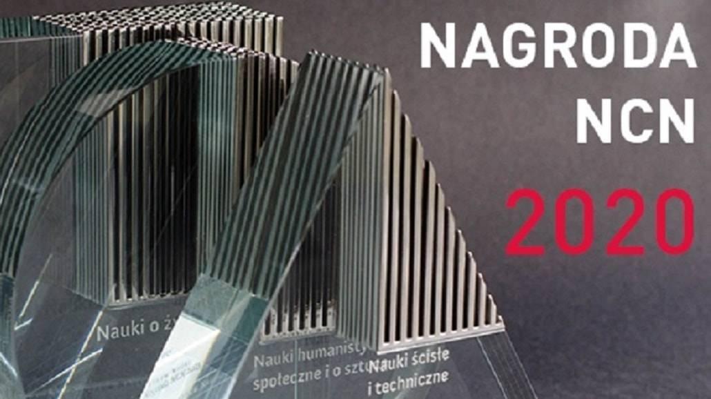 Narodowe Centrum Nauki - nagroda 2020