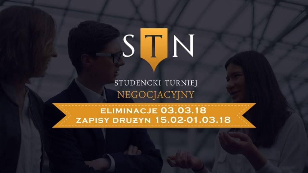 """Turniej organizowany jest przez Studenckie Koło Naukowe """"Negocjator""""."""