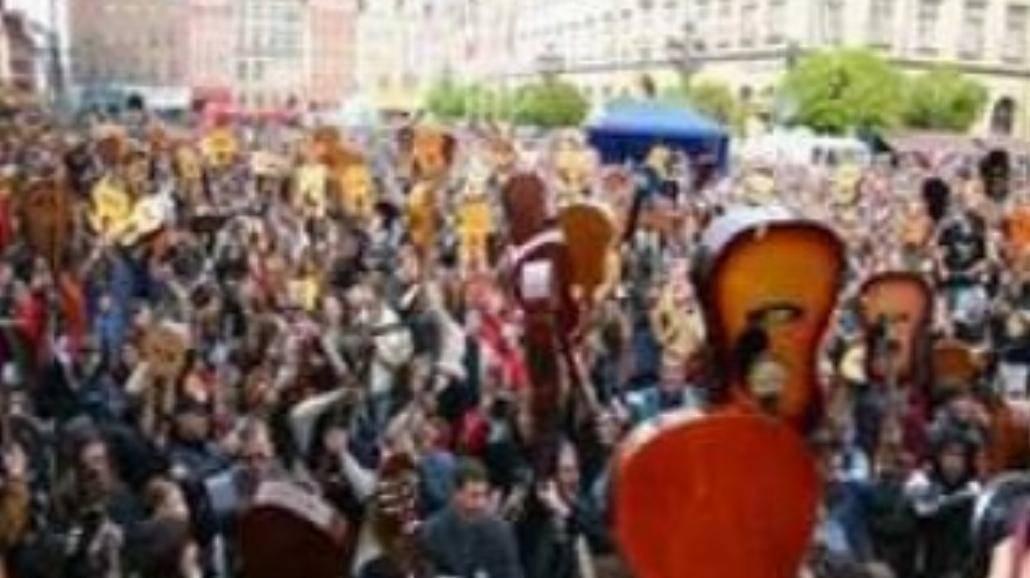 Gitarowy Rekord Guinnessa należy do Wrocławia