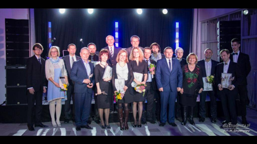 Studenci AWF nagrodzili wykładowców. Gala Kukucjusze 2015 [ZDJĘCIA]