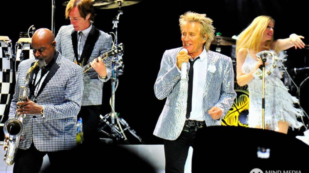 Rod Stewart zagrał w Łodzi! Zobaczcie zdjęcia z koncertu! [ZDJĘCIA]
