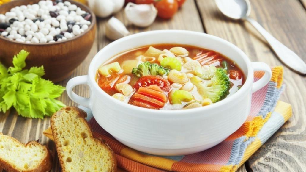 Zimowa zupa minestrone