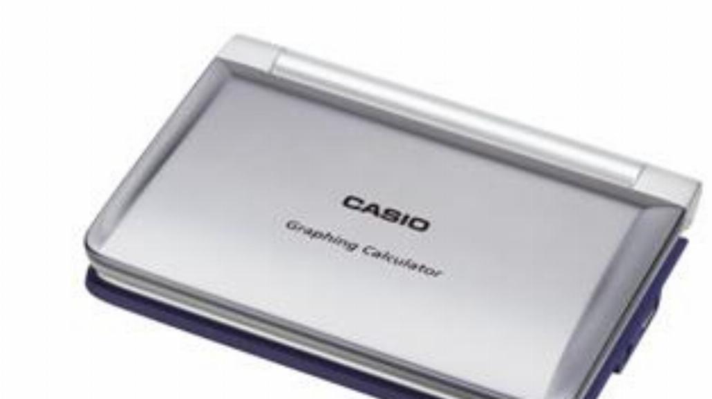 Kalkulator Casio w wersji slim