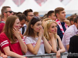 Polscy kibice podczas meczu z Senegalem [ZDJĘCIA] - MŚ 2018, Mistrzostwa Świata, Mundial, strefa kibica, Senegal