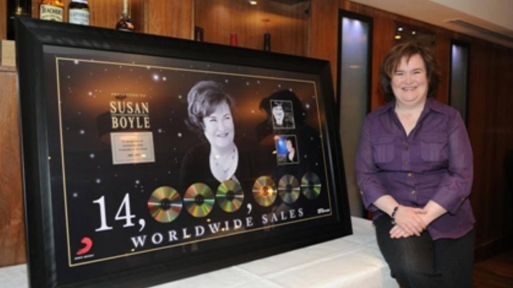 14 milionów płyt Susan Boyle