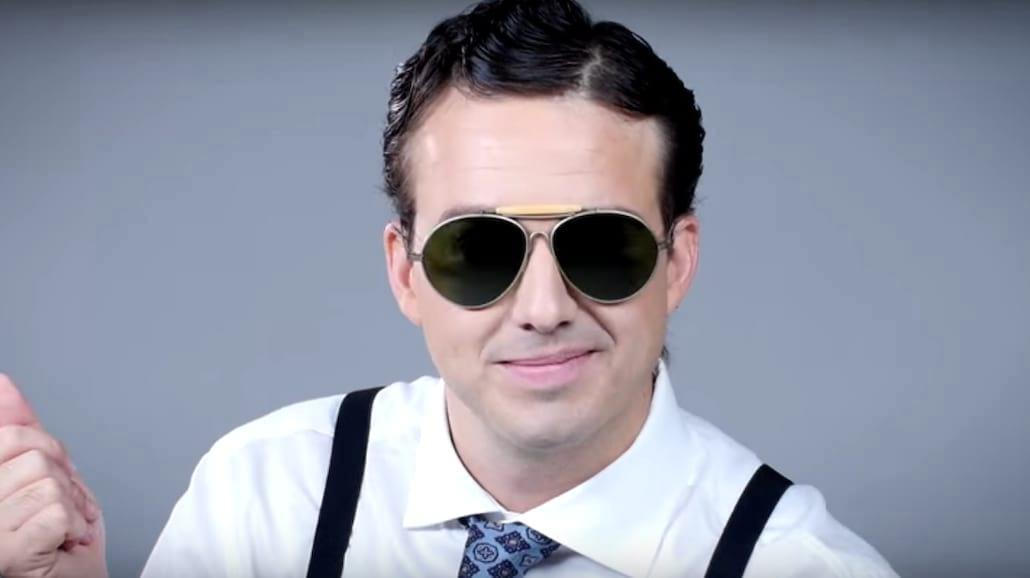 Moda męska na przestrzeni wieków - okulary!