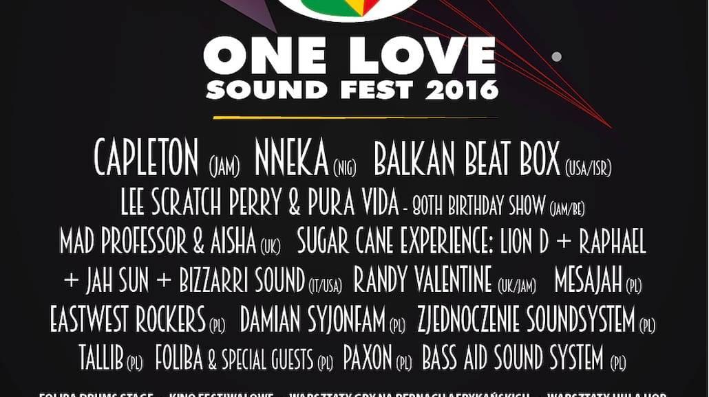 One Love Sound Fest 2016 już 19 listopada!