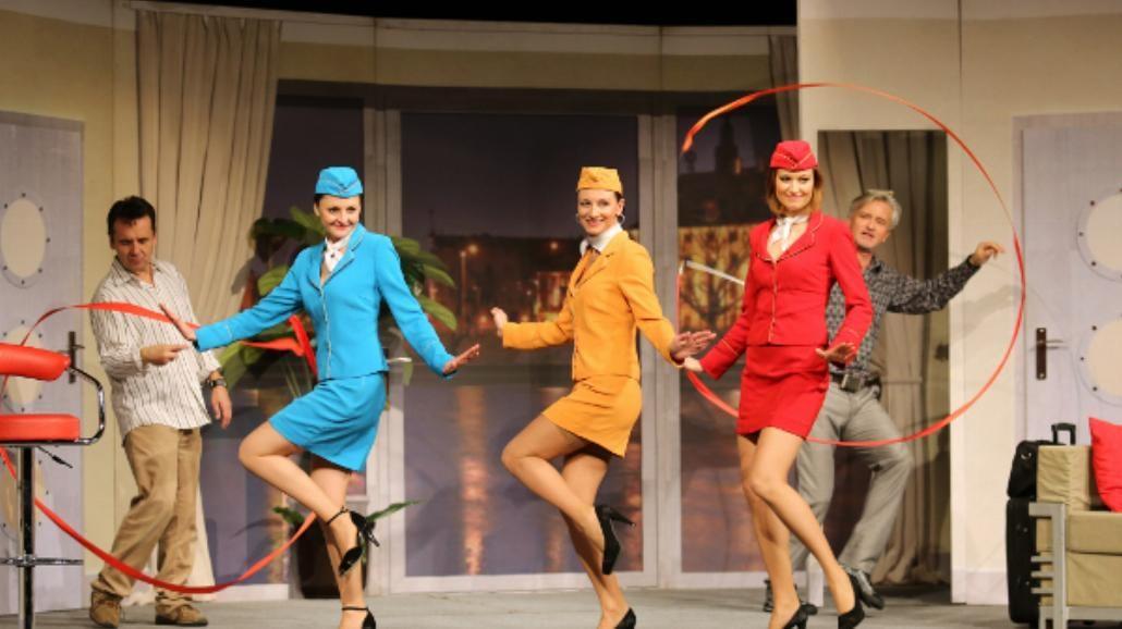 """""""Boeing, boeing"""" - poligamia na scenie! [RECENZJA]"""
