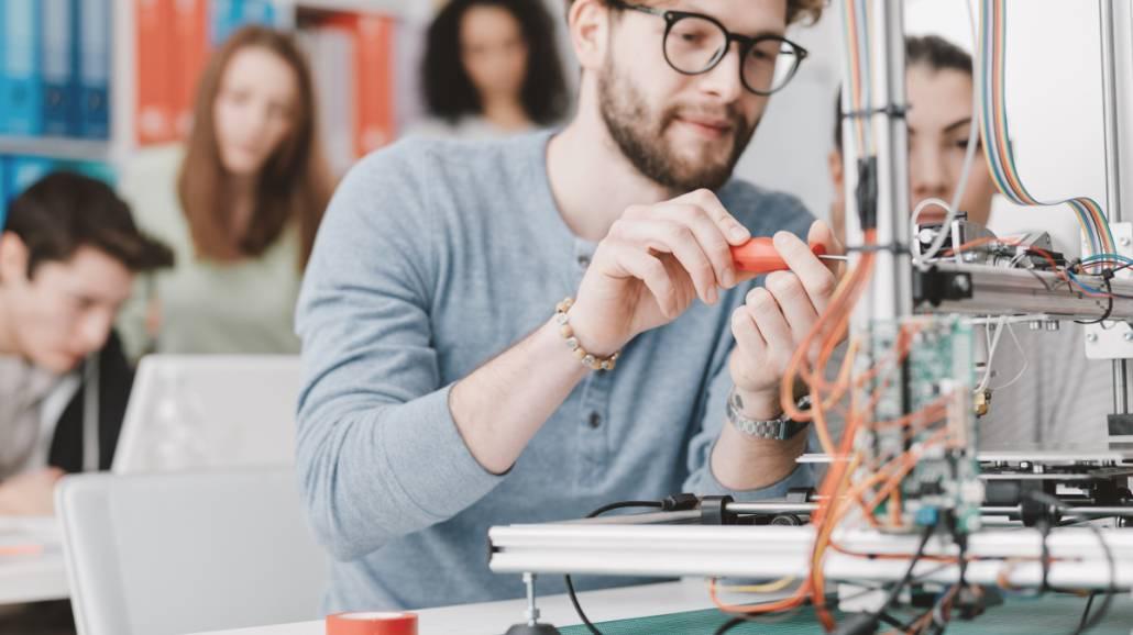 Studenci i ich projekty techniczne