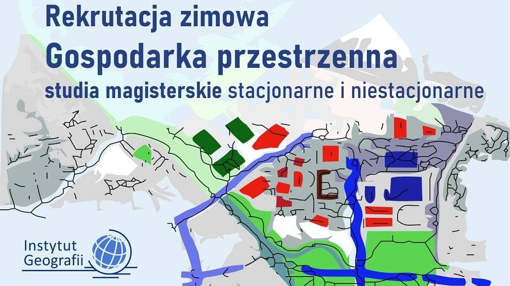 Gospodarka przestrzenna - rekrutacja śrÃłdroczna UP w Krakowie 2020/2021