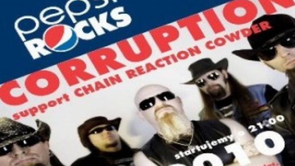 Pepsi Rocks: Corruption w Hard Rock Cafe