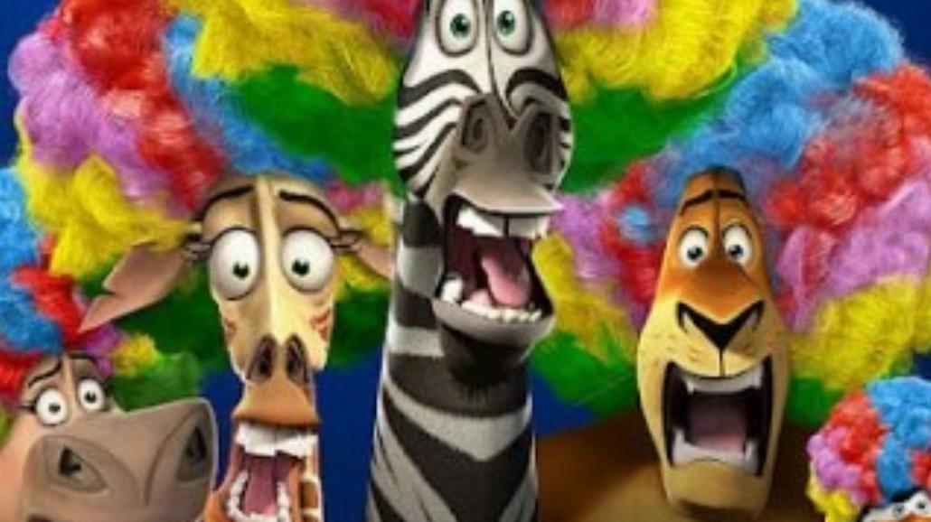 """""""Madagaskar 3"""" znów na szczycie"""