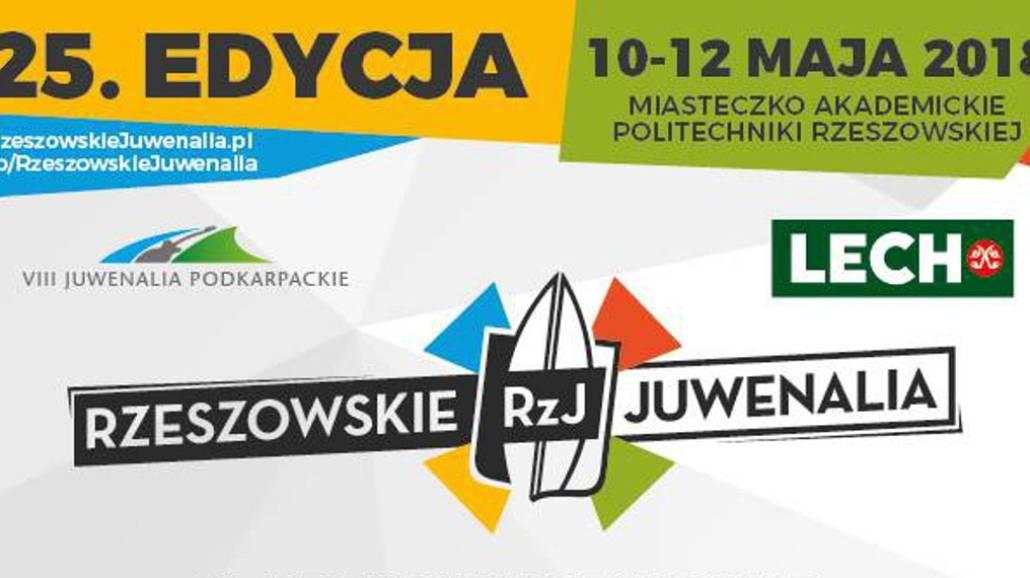 Zobacz, kto zagra podczas JuwenaliÃłw Rzeszowskich 2018!