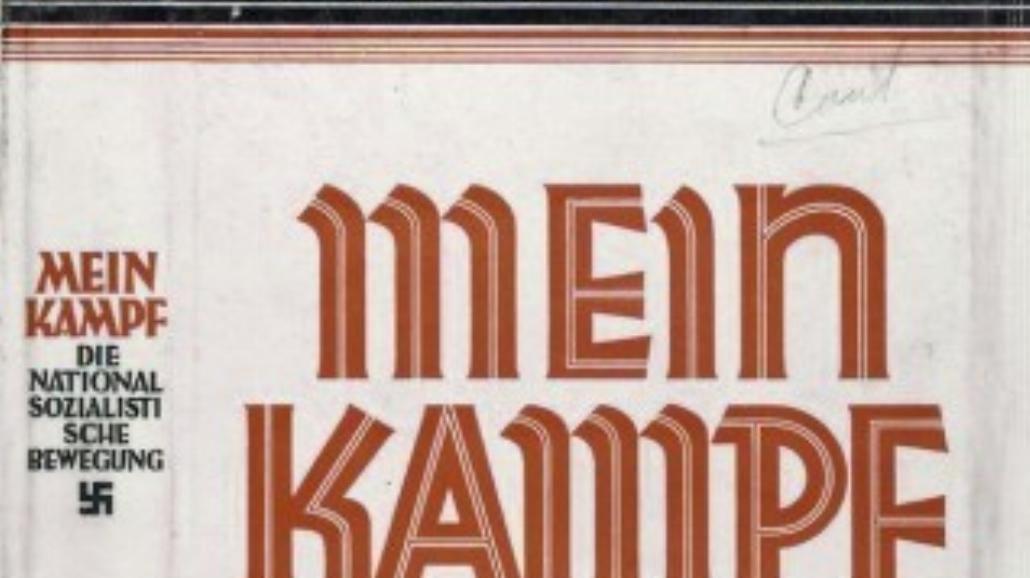 """Francja wyda """"Mein Kampf""""!"""
