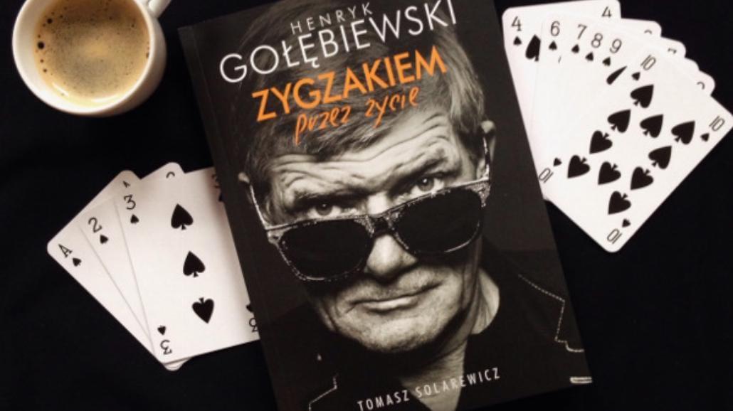 """""""Zygzakiem przez życie"""" Henryka Gołębiewskiego"""