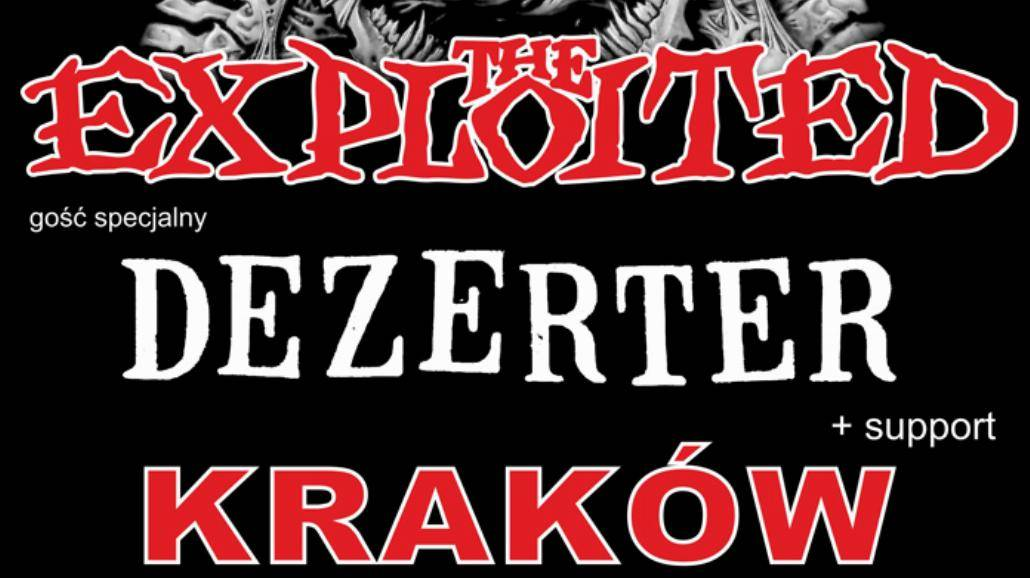 Koncert The Exploited już 16 kwietnia! [WIDEO, BILETY]
