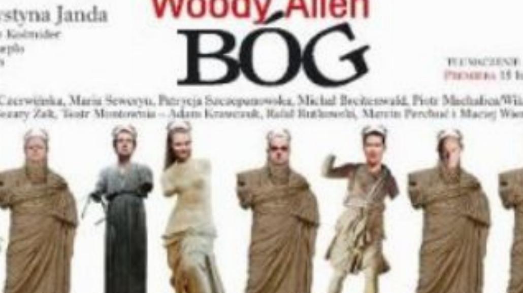 """""""Bóg"""" Woody'ego Allena w Teatrze Polonia"""