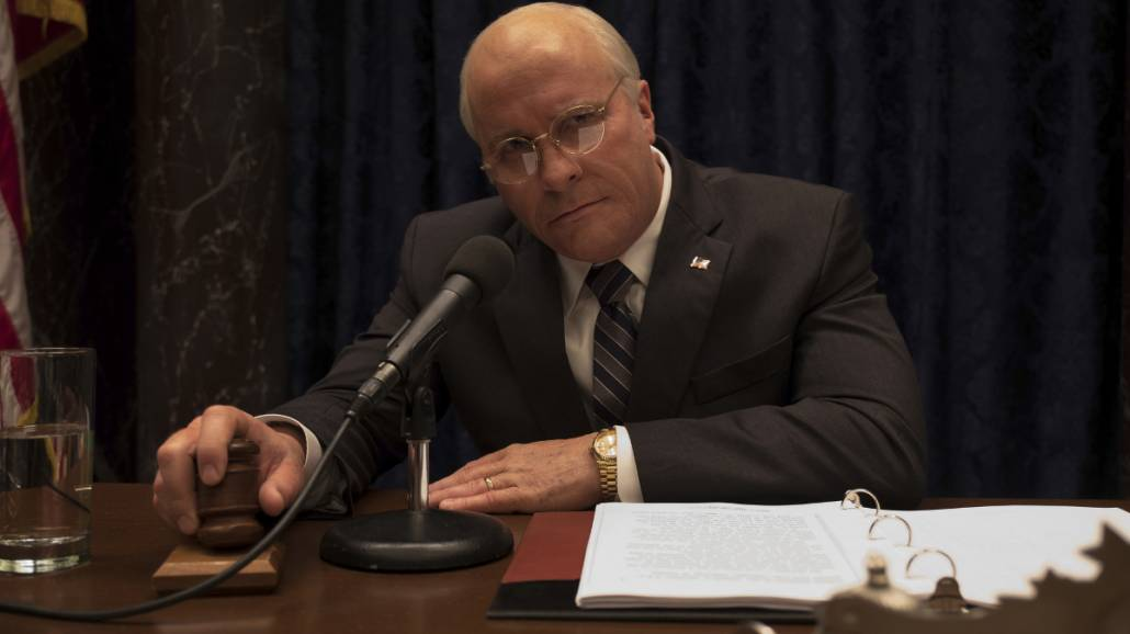 Christian Bale jako Dick Cheney