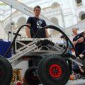 HAL-062 - łazik marsjański studentów Politechniki Warszawskiej - koło naukowe robotyków, PW, projekt, łazik marsjański, zawody