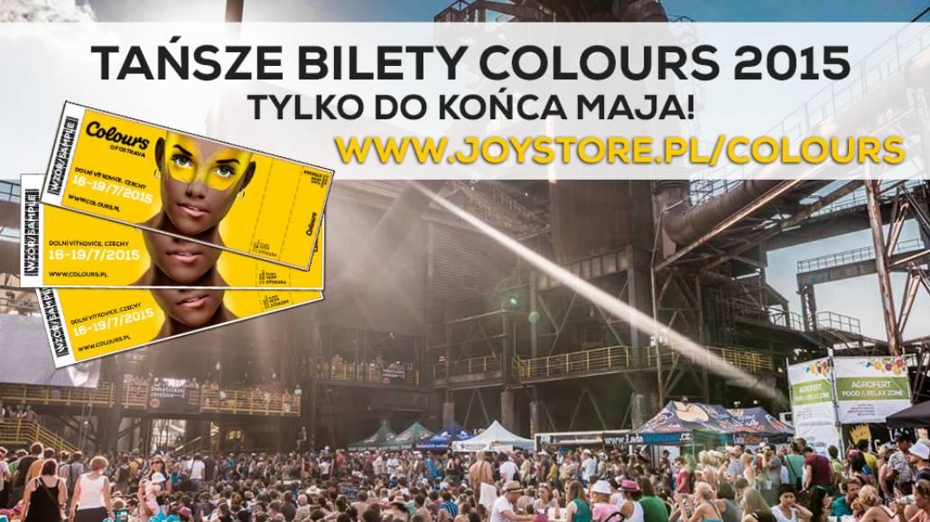 Ostatnie dni tańszych biletów na Colours Of Ostrava 2015