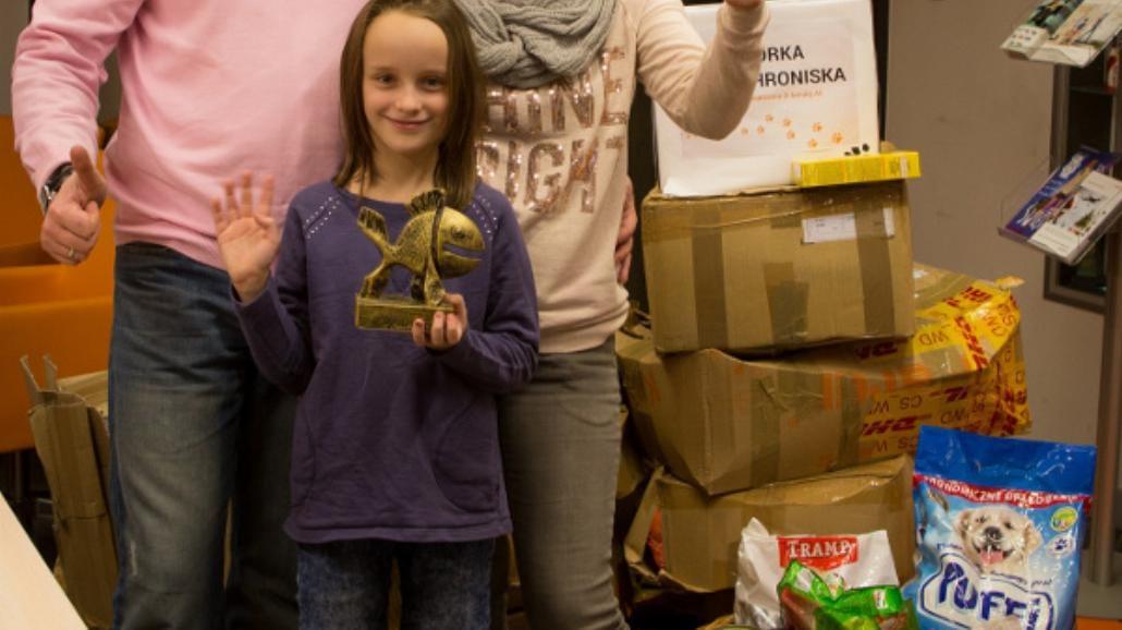 Alicja z krainy darów - festiwal filmowy spełnił marzenie dziewczynki