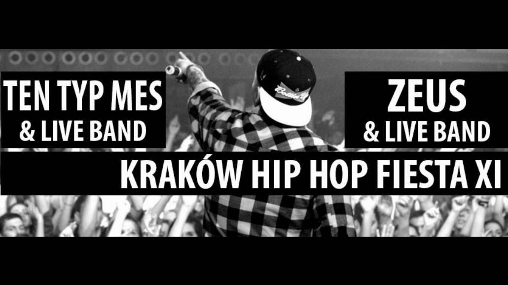 Hip Hop Fiesta powraca! Ten Typ Mes i Zeus zagrają z live bandem [BILETY]