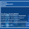 Darmowe doradztwo dla warszawskich przedsiębiorców - trwają zapisy do Academy_Smolna#2021