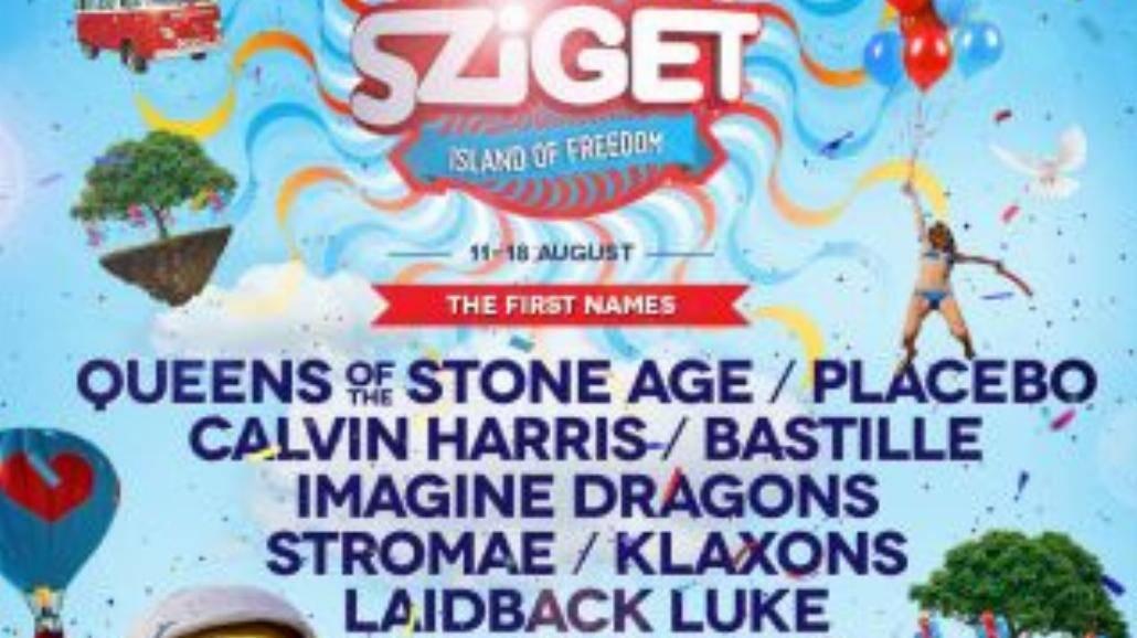 Pierwsze gwiazdy na Sziget Festival